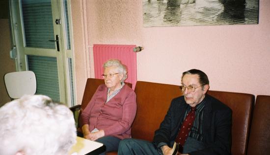M. Martel et Mme Gourlain très attentifs